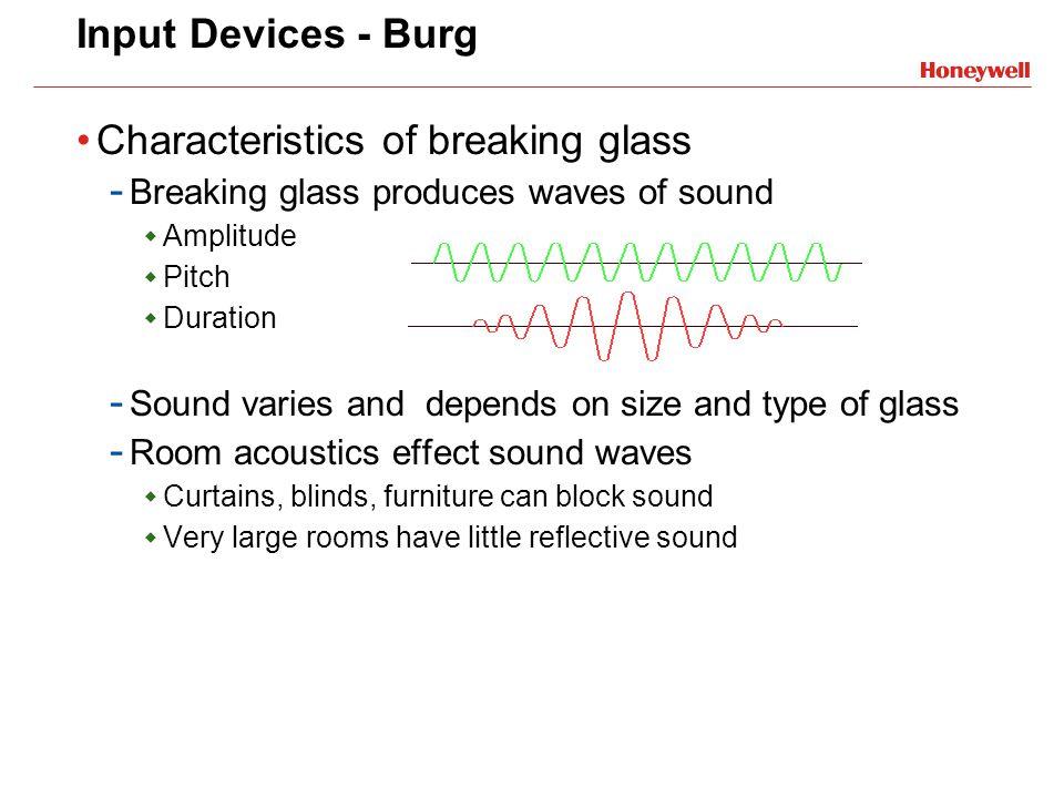 Characteristics of breaking glass