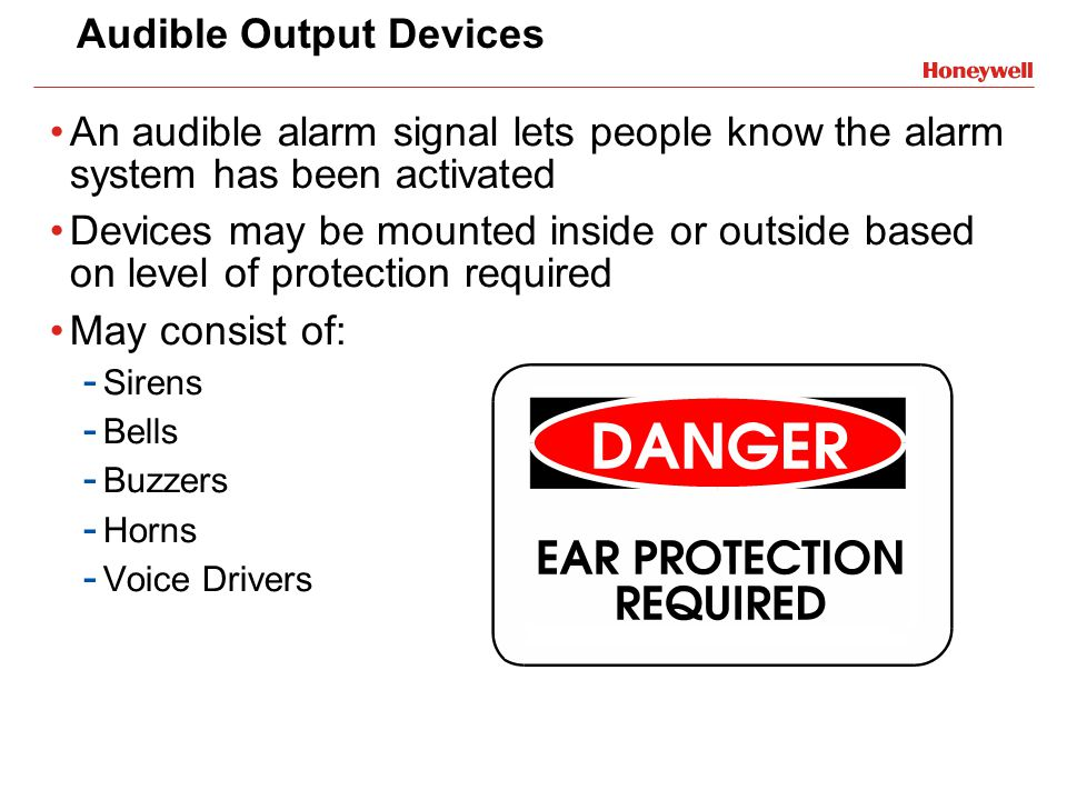Audible Output Devices