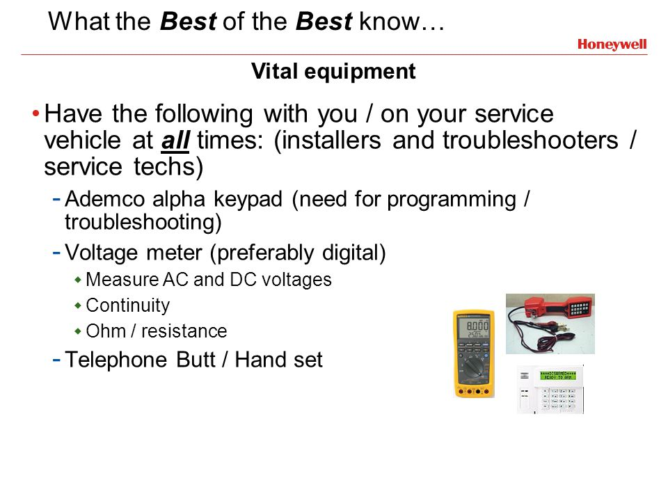 What the Best of the Best know…