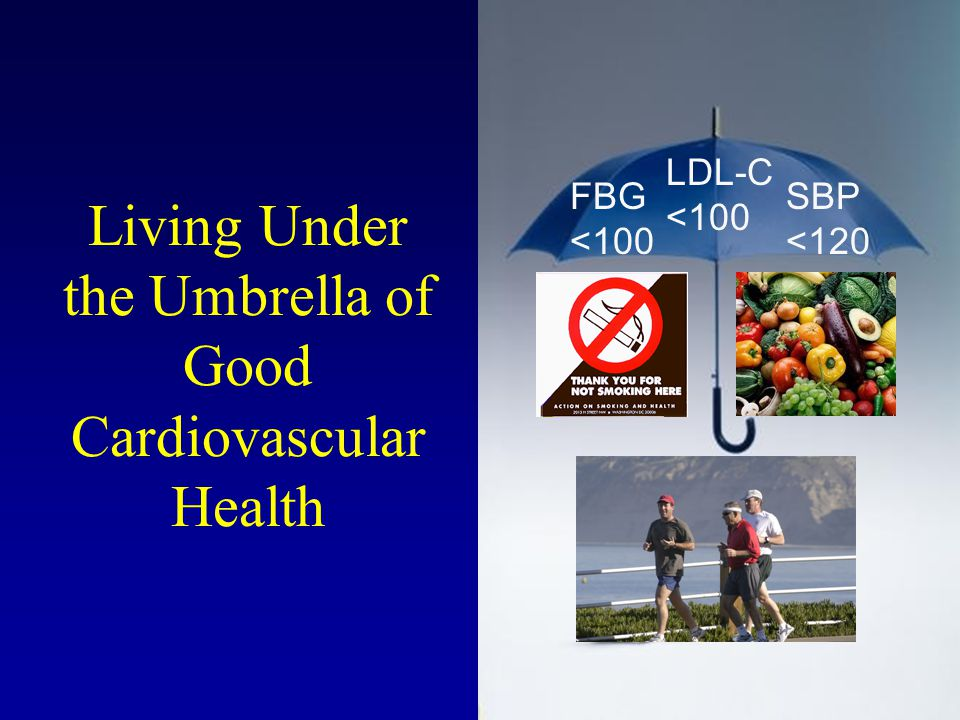Living Under the Umbrella of Good Cardiovascular Health