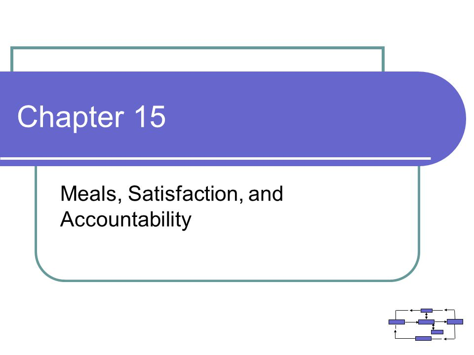 Meals, Satisfaction, and Accountability