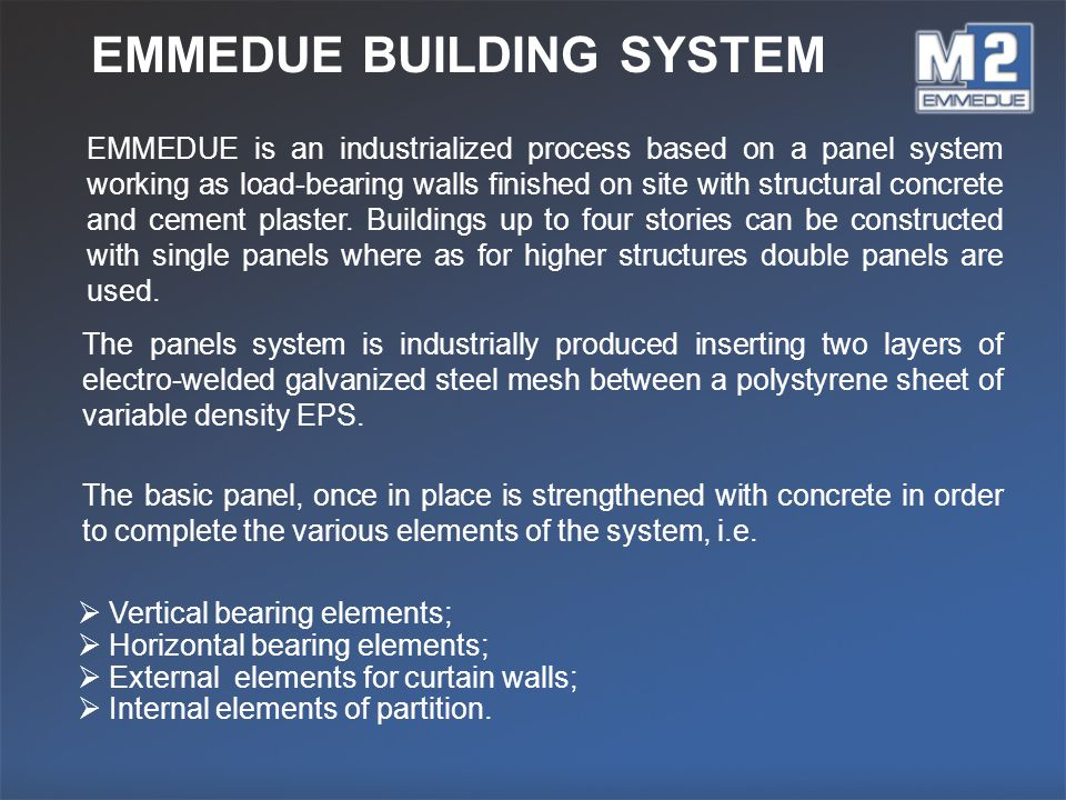 EMMEDUE BUILDING SYSTEM