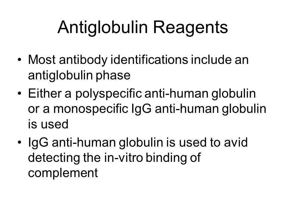 Antiglobulin Reagents