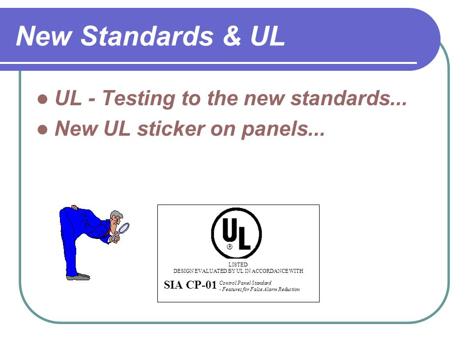 DESIGN EVALUATED BY UL IN ACCORDANCE WITH