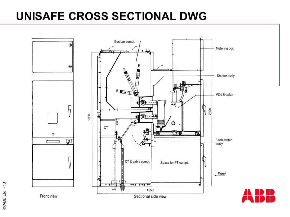 UNISAFE CROSS SECTIONAL DWG