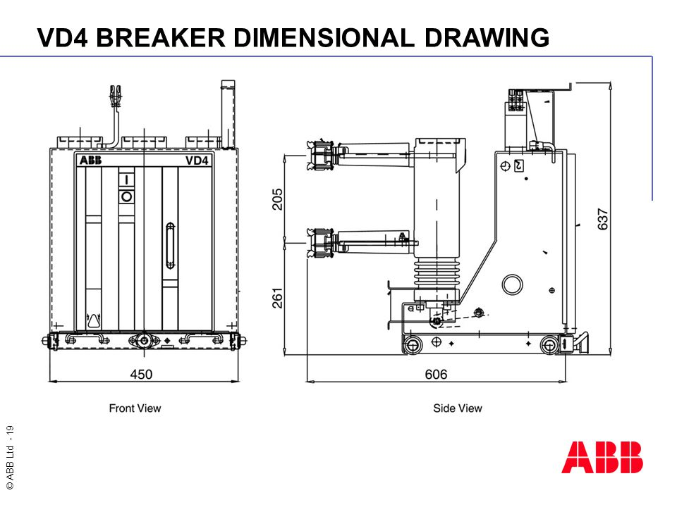 VD4+BREAKER+DIMENSIONAL+DRAWING unisafe panel with vd4 circuit breaker ppt video online download abb vd4 wiring diagram at gsmx.co