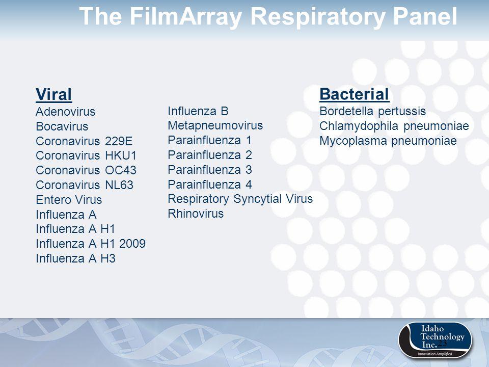 next generation panel oriented diagnostics the filmarray