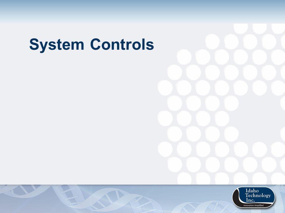 System Controls