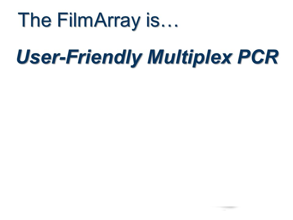User-Friendly Multiplex PCR