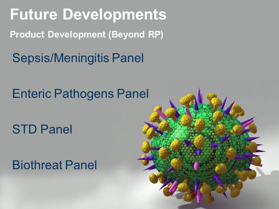 Future Developments Product Development (Beyond RP)