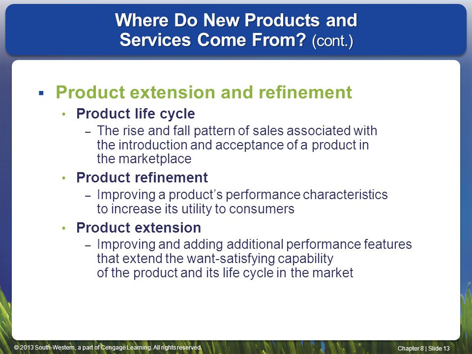 Where Do New Products and Services Come From (cont.)