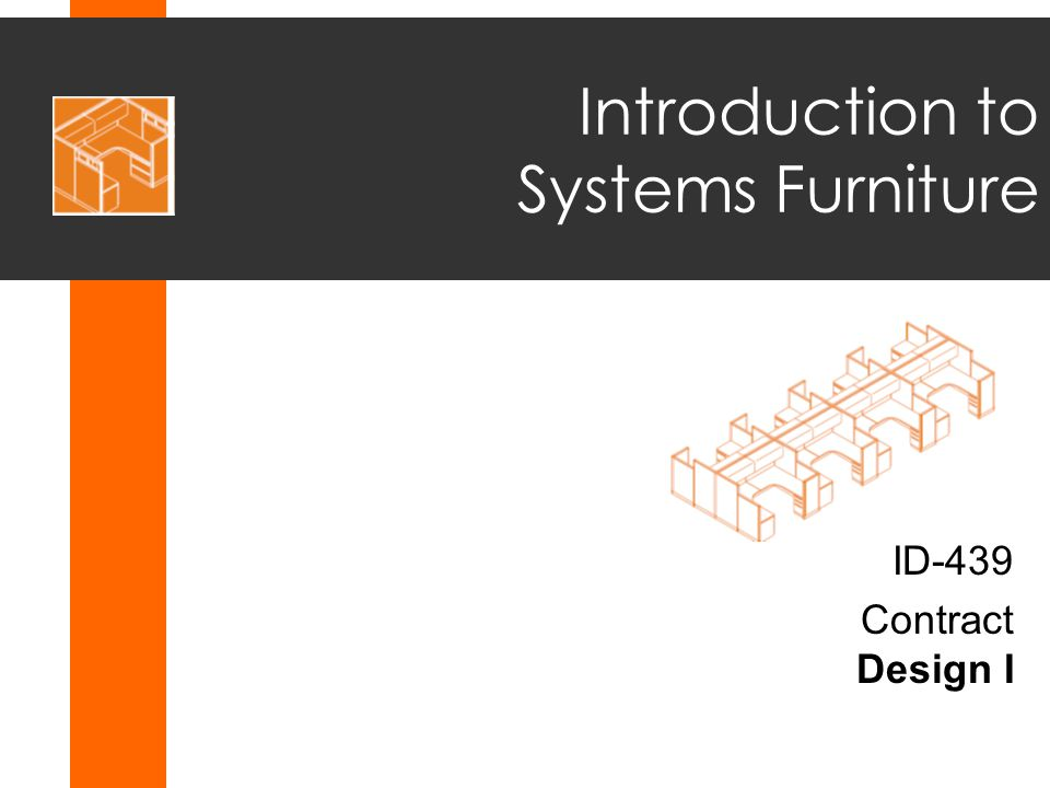 Introduction to Systems Furniture