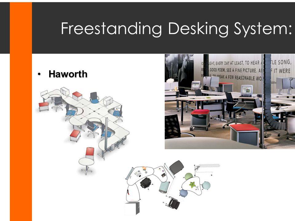 Freestanding Desking System: