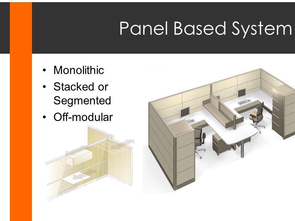 Panel Based System Monolithic Stacked or Segmented Off-modular
