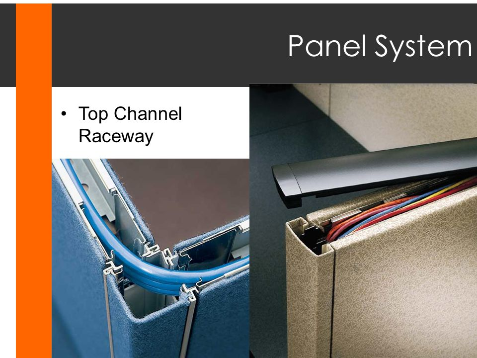 Panel System Top Channel Raceway