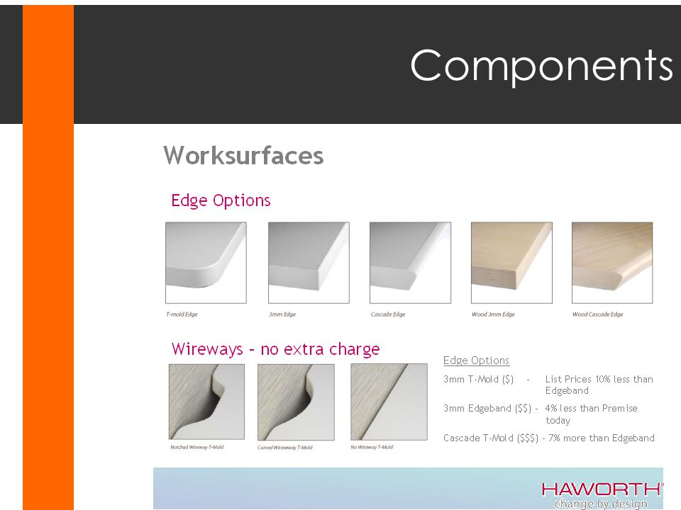 Components Steelcase Answer