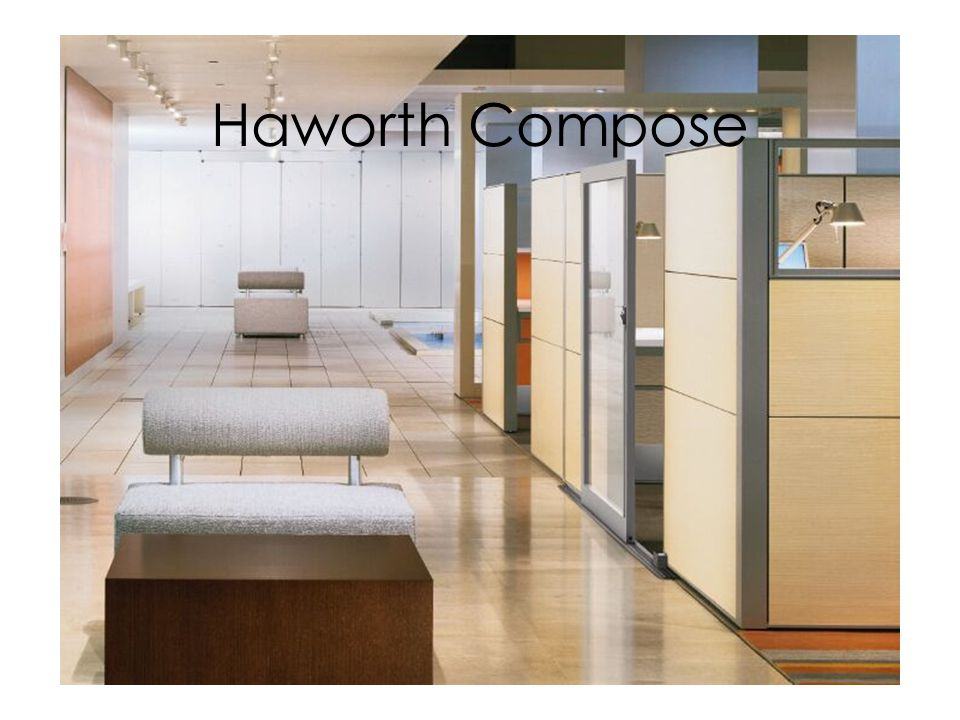 Haworth Compose Compose with Slider doors