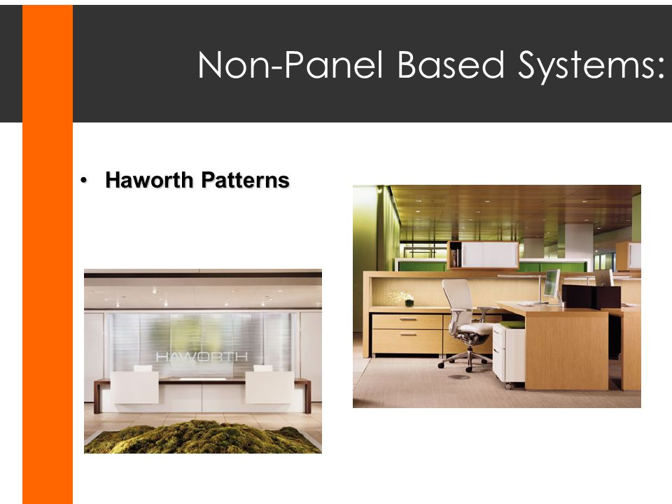 Non-Panel Based Systems: