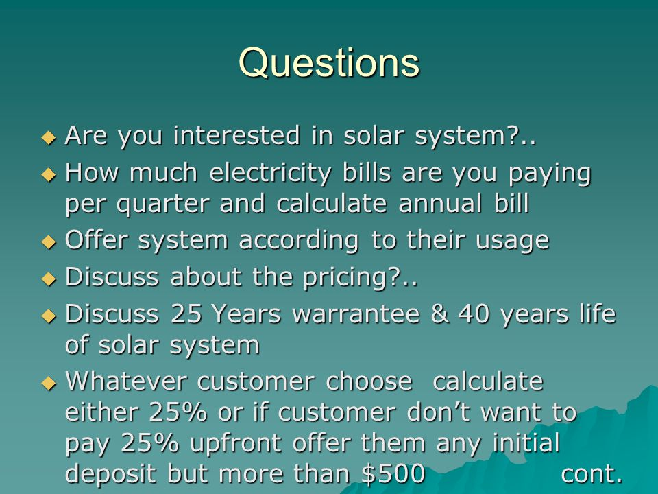 Questions Are you interested in solar system ..