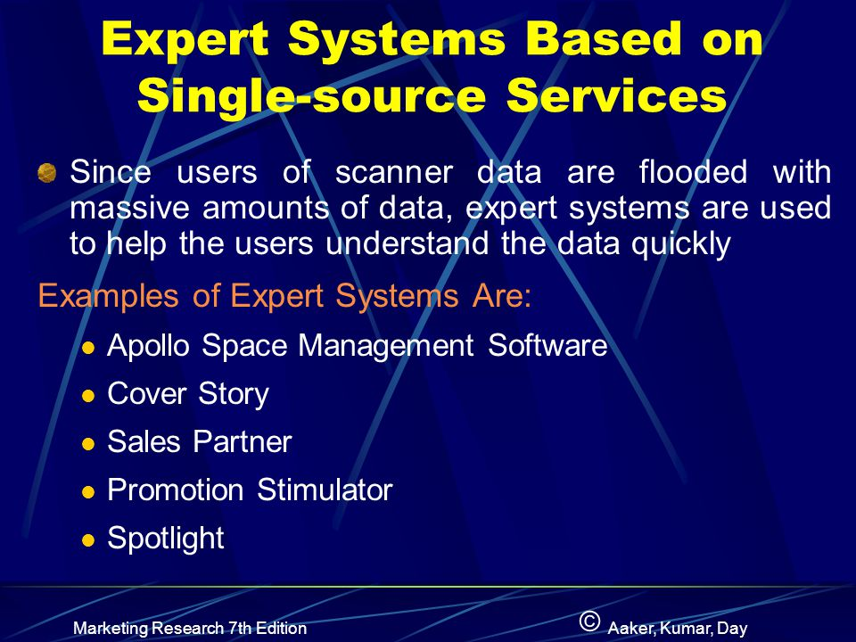 Expert Systems Based on Single-source Services