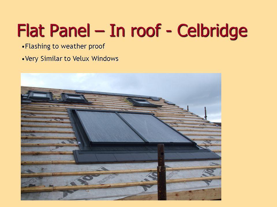 Flat Panel – In roof - Celbridge