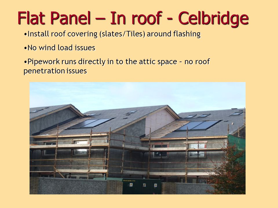 Flat Panel – In roof - Celbridge