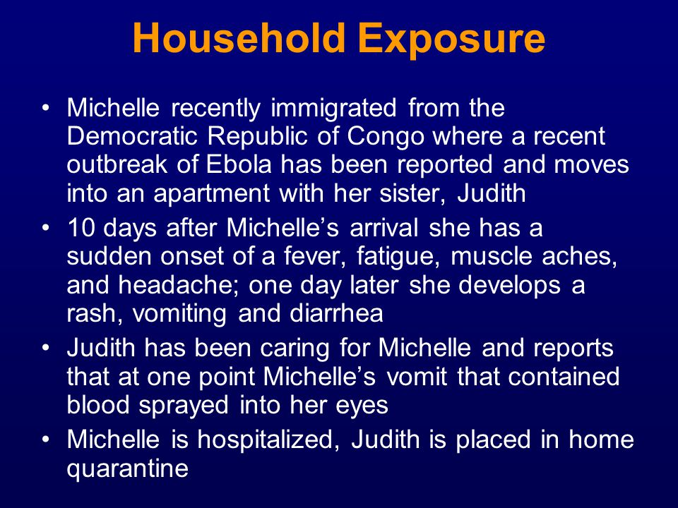 Household Exposure