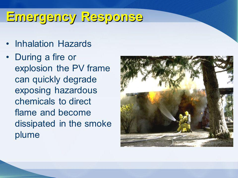 Emergency Response Inhalation Hazards