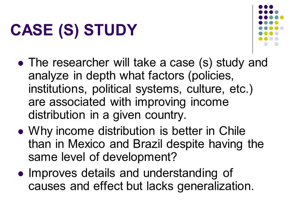 CASE (S) STUDY