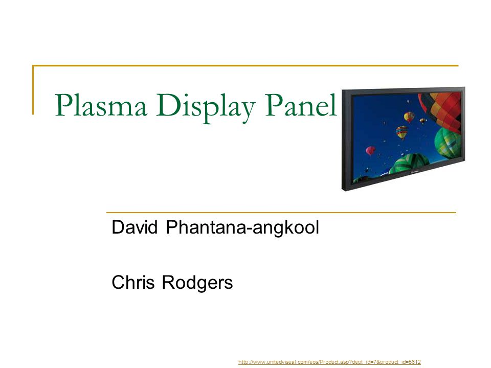 David Phantana-angkool Chris Rodgers
