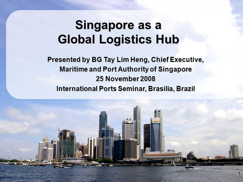 Singapore as a Global Logistics Hub