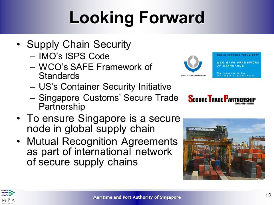 Looking Forward Supply Chain Security