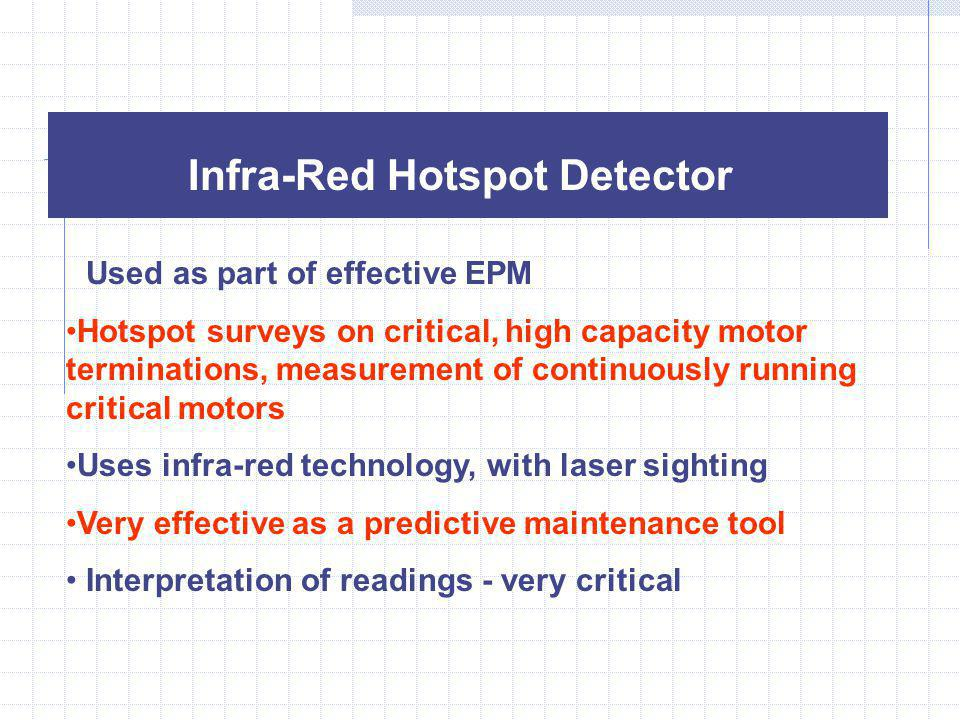 Infra-Red Hotspot Detector