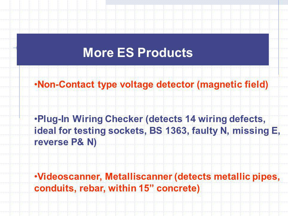 More ES Products Non-Contact type voltage detector (magnetic field)