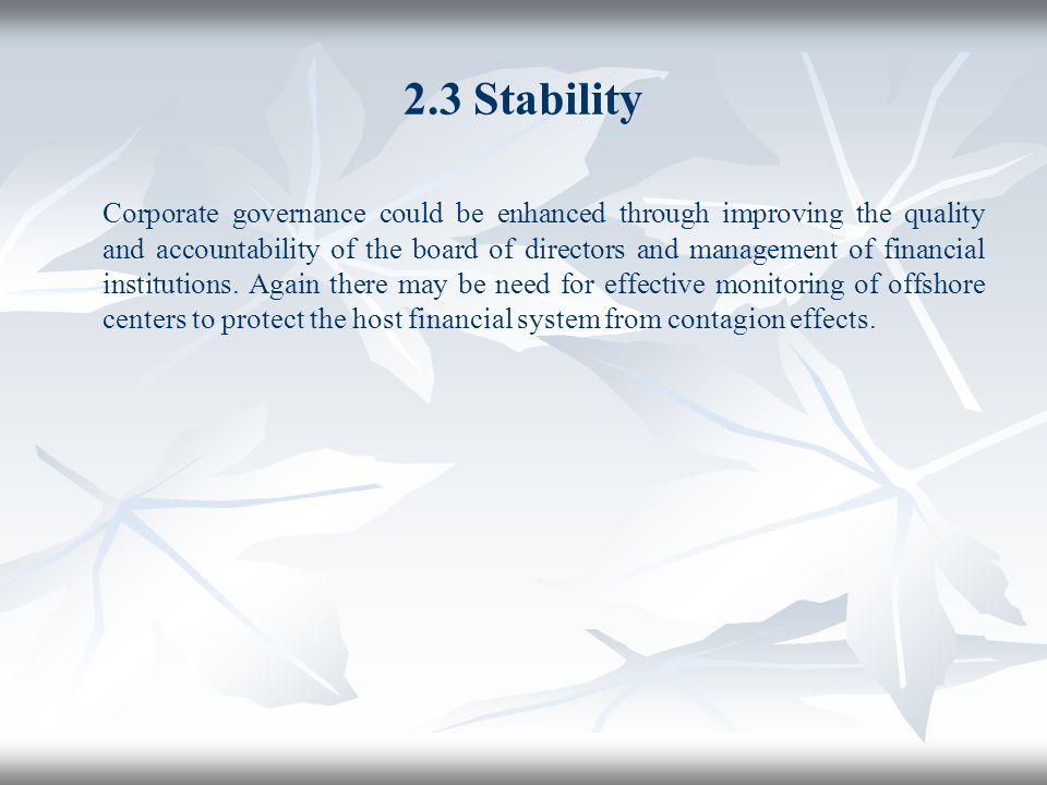 2.3 Stability