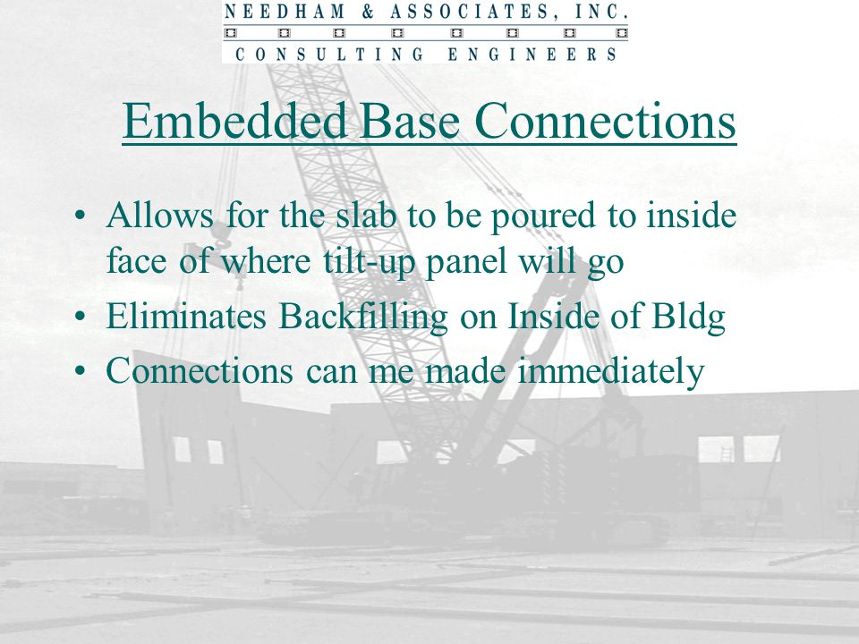 Embedded Base Connections