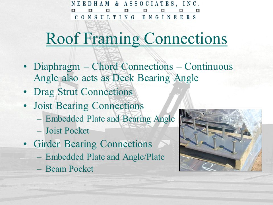 Roof Framing Connections
