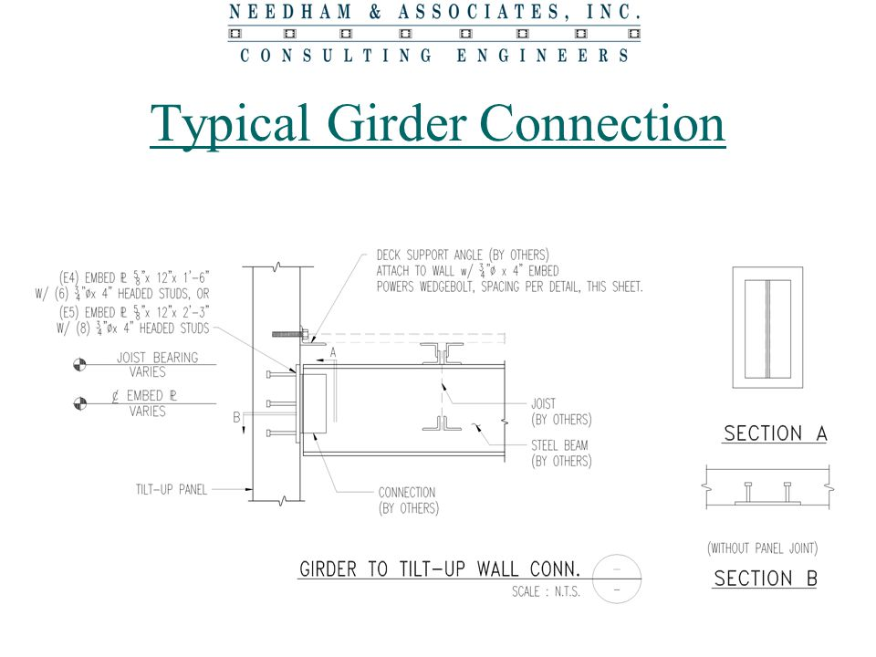 Typical Girder Connection