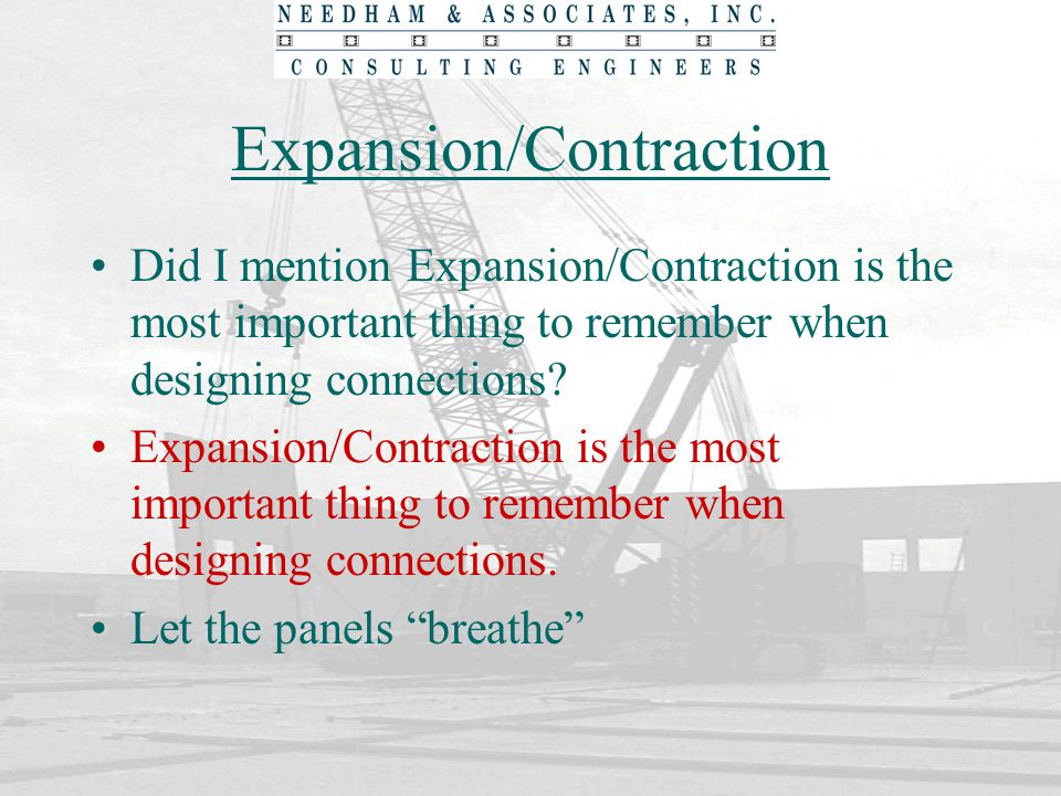 Expansion/Contraction