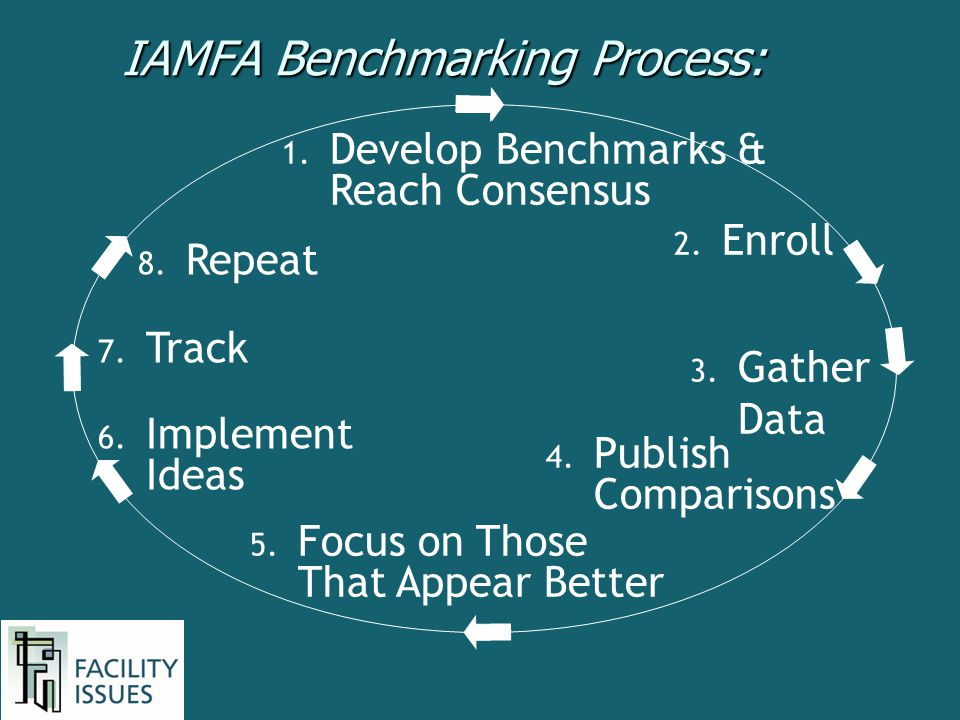 IAMFA Benchmarking Process: