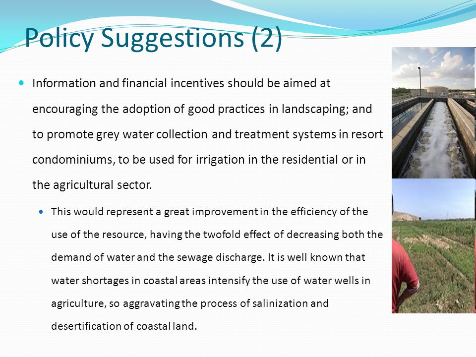 Policy Suggestions (2)