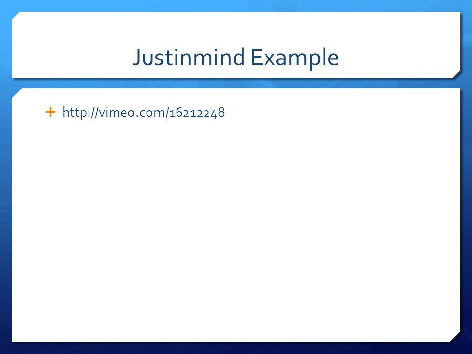 Justinmind Example http://vimeo.com/16212248