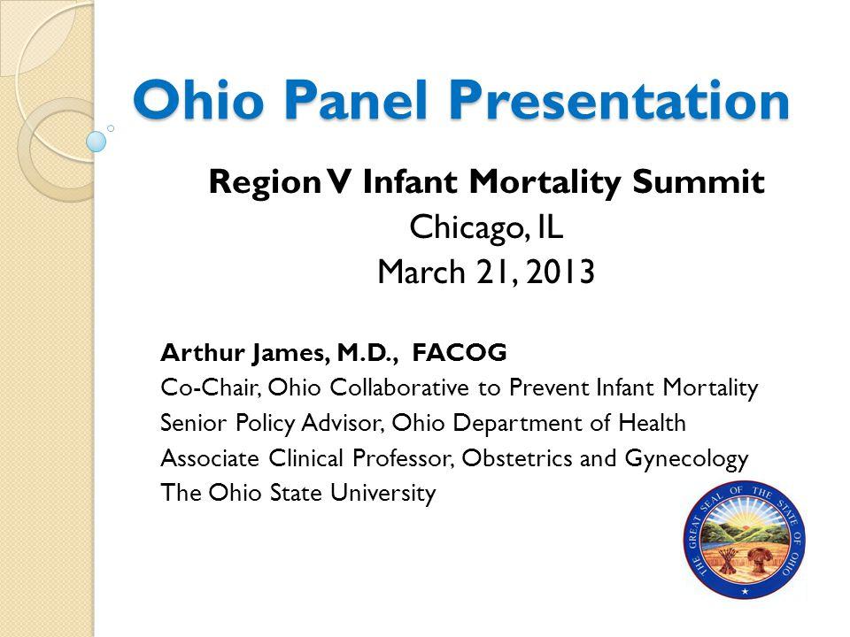 Ohio Panel Presentation