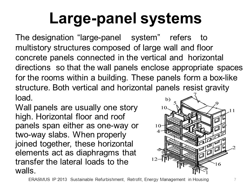Large-panel systems