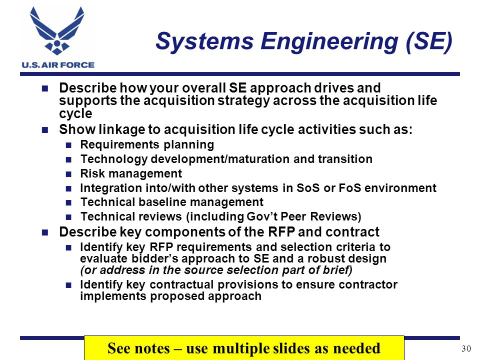 Systems Engineering (SE)