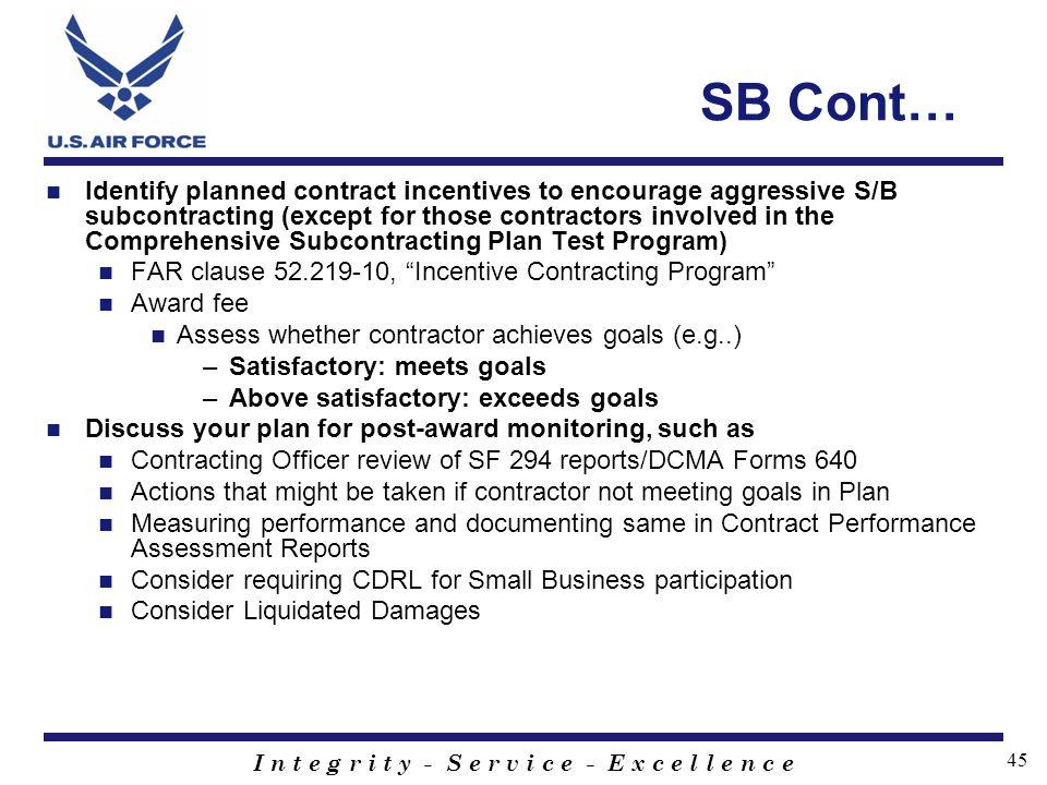 SB Cont…