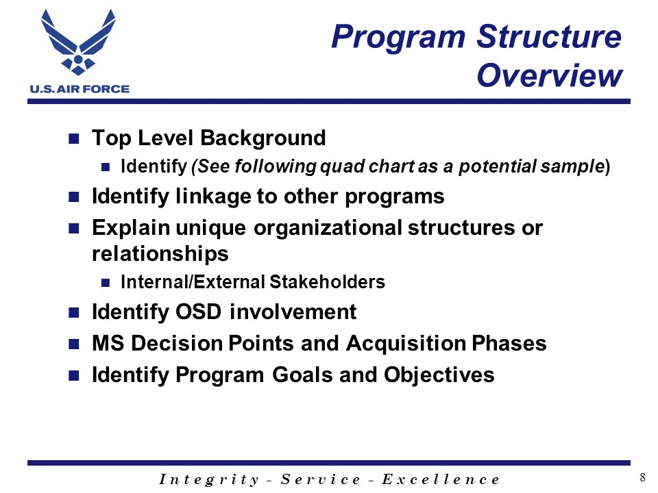 Program Structure Overview