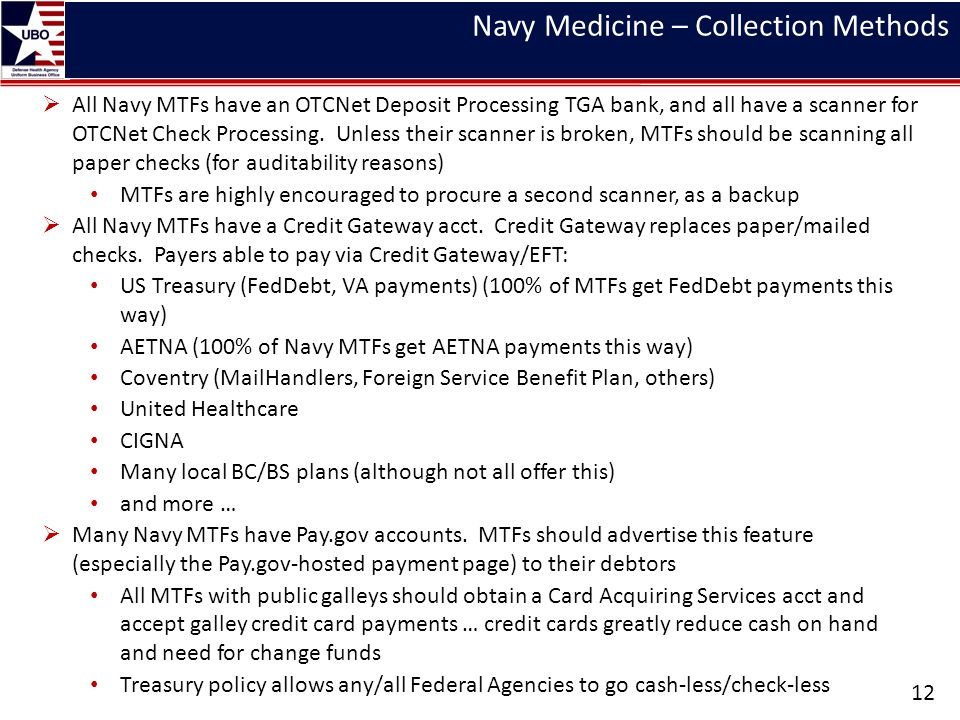 Navy Medicine – Collection Methods