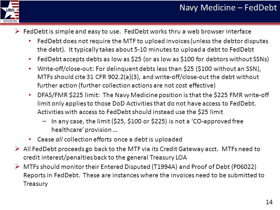 Navy Medicine – FedDebt