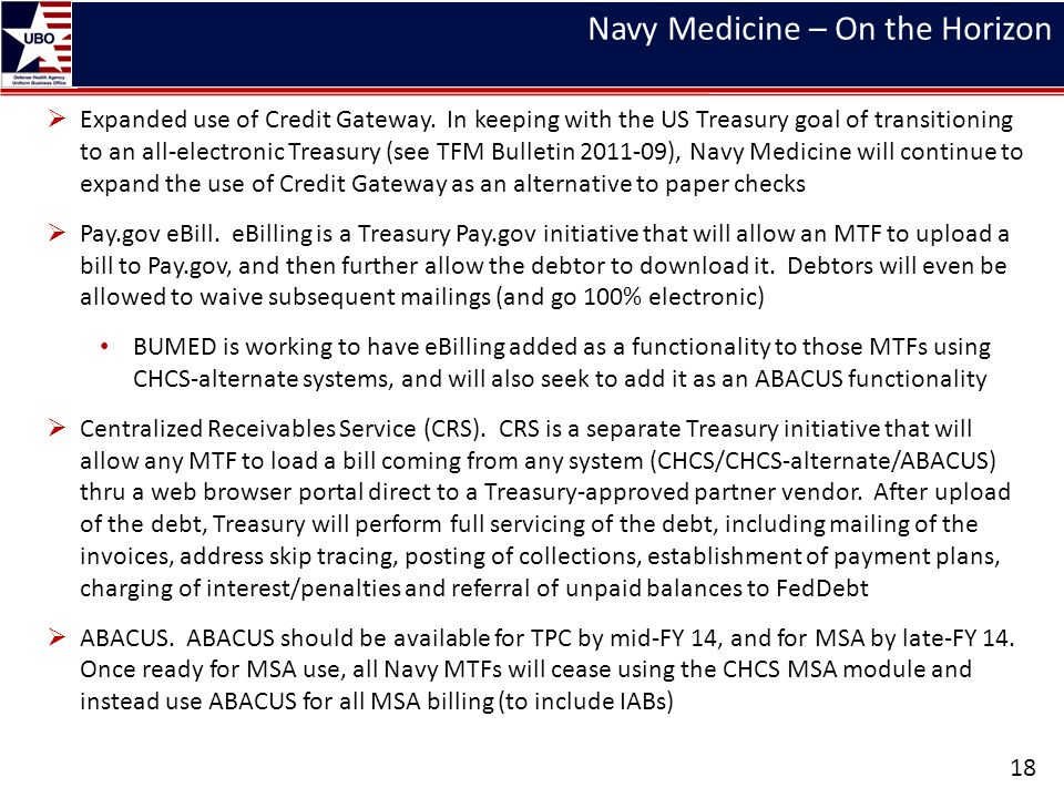 Navy Medicine – On the Horizon